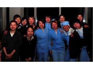 日本女工合影